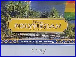 Disney's Theme Park Collection Polynesian Resort & Spa Monorail Accessory New