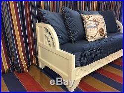 Disney's Yacht Club Resort Nautical Theme Day Bed with Hidden Mickey Pillow Prop