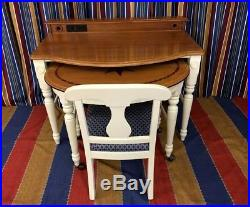 Disney's Yacht Club Resort Nautical Theme Game Table & Chair WDW Guest Room Prop