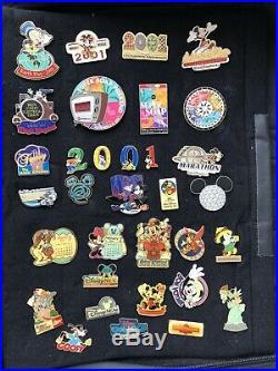 Disney set/lot of 300 plus vintage pins