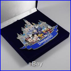 Disney trading pins Disneyland 60th Diamond Celebration Super Jumbo WDI 110781