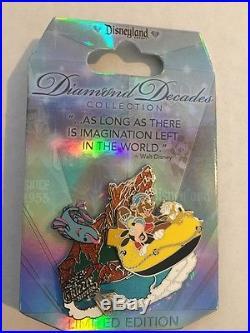 Disneyland 60th Diamond DECADES 6 Pcs SOARIN, TOY, STARTOURS, CARSLAND, PIER, GRIZZLY