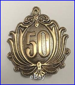 Disneyland CLUB 33- 50th Anniversary celebration pin Member Exclusive 2017