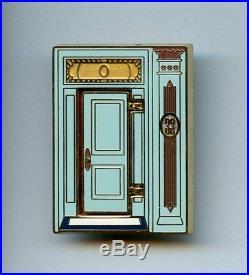 Disneyland Club 33 Door with Walt Disney Photo Hinged LE Pin & Card