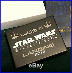 Disneyland Club 33 Star Wars Galaxy's Edge Grand Opening Pin Ltd Ed 500 NIB