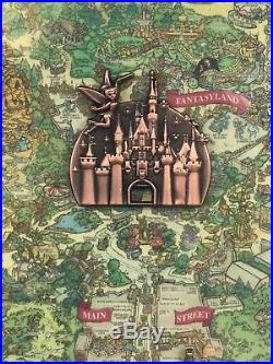 Disneyland Diamond Celebration 60th Anniversary Locks of the Kingdom Frame Set