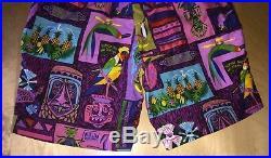Disneyland Enchanted Tiki Room Shorts Size 34 Waist Walt Disney Theme Park