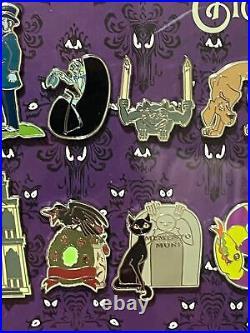 Disneyland Haunted Mansion O'Pin House Framed Pin Set (Monty Maldovan)