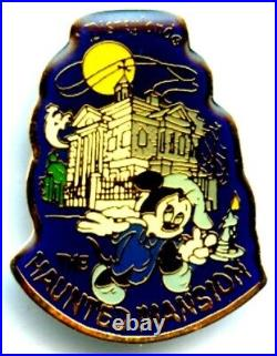 Disneyland Haunted Mansion Pin from the 1980's (The 1st Haunted Mansion Pin!)
