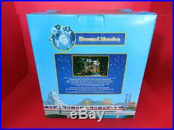 Disneyland Haunted Mansion Play Set Monorail Theme Park NEW