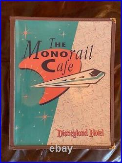 Disneyland Hotel Monorail Cafe Restaurant Menu Vintage Theme Park