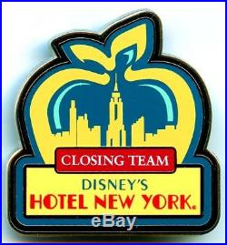 Disneyland Paris Cast Member Hotel New York Closing Team Pin