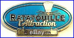 Disneyland Paris Cast Member Ratatouille Attraction Opening Day Pin (LE 200)