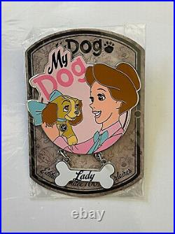 Disneyland Paris DLP LE 700 My Dog Lady with Darling Pin