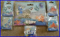Disneyland Paris Disney Pin Pixar Finding Dory Pin Lot