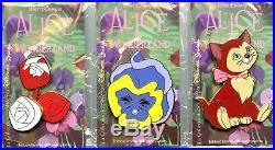 Disneyland Paris Eleonore Bridge Alice in Wonderland Collection 3-Pin Set