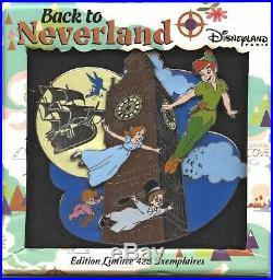 Disneyland Paris PTE Back to Neverland Jumbo Big Ben Pin (Peter Pan)