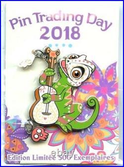 Disneyland Paris Pin Trading Day Día de los Muertos Pascal Pin (Rapunzel)