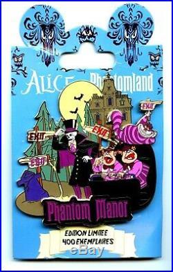 Disneyland Paris Pin Trading Event Alice In Phantomland Jumbo