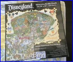Disneyland Park Puzzle Decorative Border 1000 Pieces 18 x 26 Brand New Sealed