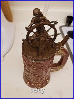 Disneyland Pirates Of The Caribbean 50th Anniversary Stein Cup Mug Sold Out