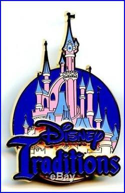 Disneyland Resort Paris Cast Member Disney Traditions Pin