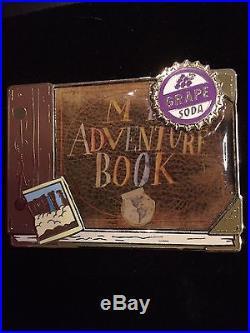 Disneystore. Com Disney Shopping DS UP My Adventure Book LE 125 Pin Grape Soda
