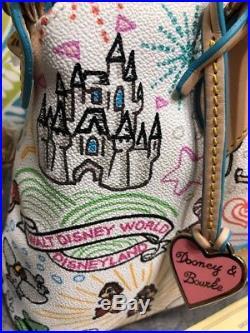 Dooney & Bourke Disney Theme Parks Sketch Small Satchel Crossbody Purse