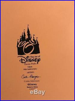 Extremely Rare! Walt Disney Lilo & Stitch Big Theme Park Stitch Figurine Statue