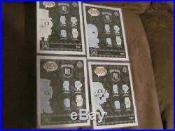 Funko Haunted Mansion Gus Ezra Phineas Hatbox Ghosts Disney Nib Vinyl Theme Park