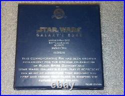 Galaxy's Edge Limited Edition Pin / Star Wars Disneyland / Grand Opening 2019