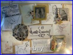 GenEARation D Event Walt Disney Memorabilia LE 100 Framed Pin Set