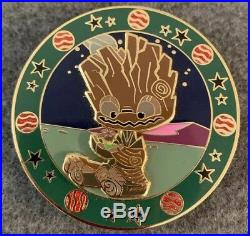 Groot Disney Fantasy Pin LE /75 Before They Were Guardians Galaxy Marvel HTF