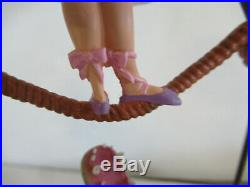 HAUNTED MANSION Stretch Painting BALLET GIRL Figure Disney Theme Parks NIB! ZQ