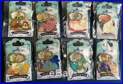 HKDL Hong Kong Disney Pin Dreaming Series Set Zootopia Alice Baymax Marie Pin