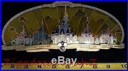 Happiest Celebration On Earth Disney Theme Park Castles Super Jumbo Pin MK DLR +
