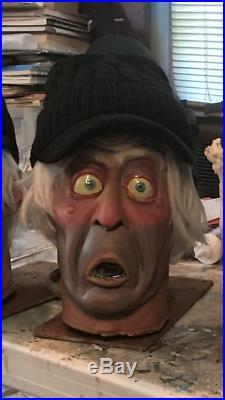 Haunted Mansion Caretaker Head Prop Disney World Disneyland