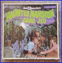 Haunted Mansion Walt Disney World Board Game Vintage Original Theme Park Ride