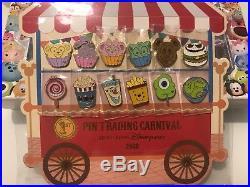 Hkdl Hong Kong Disneyland Disney Pin Trading Carnival 2018 Food Set Stitch Jack