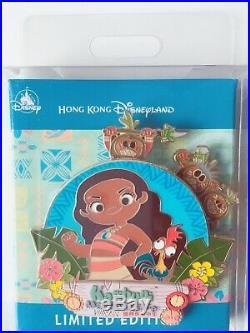 Hong Kong Disneyland Disney HKDL Moana Karibuni Marketplace Jumbo Hei Hei Pin