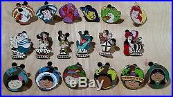 Huge Lot Of Disneyland Hidden Mickey Pins(COMPLETE SETS!)