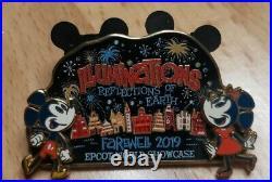 Illuminations Farewell 2019 Cast Member Exclusive Disney Pin Mickey & Minnie LE