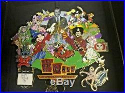 It All Started With. Walt Super Jumbo Disney pin LE 500 NIB WDW