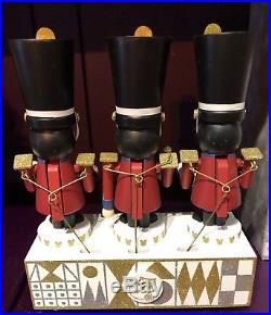 Its A Small World Musical Nutcracker Moving Figurine Disney Theme Parks NEW