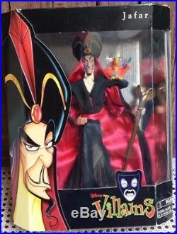 Jafar Doll Disney Classics Theme Park Great Villains DBL