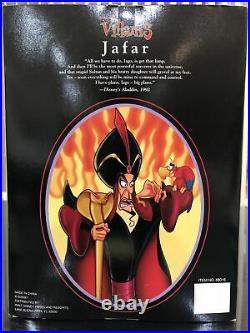 Jafar Doll Disney Villians Collection Theme Park Exclusive