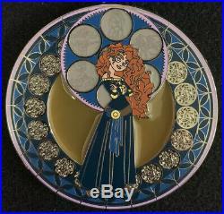 Kingdom Hearts Merida Fantasy Pin HTF Disney Stained Glass Brave Princess Rare