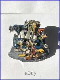 Kingdom Hearts Pin Disney Sci Fi Academy Limited 500 VHTF KH3 Rare Sci-Fi