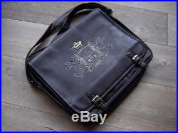 Large Disney Pin Trading Bag 1955 Disneyland Logo Bag Faux Leather New