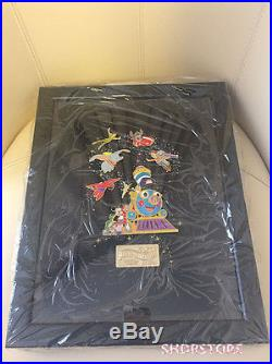 Le 1000 Disney Pin Frame First Anniversary Shanghai Disneyland Park Limited